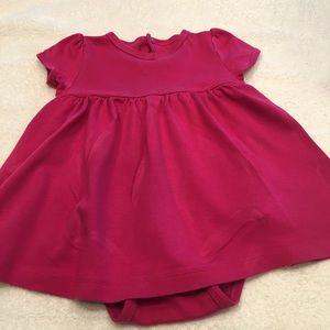 Primary purple pink 18-24 month dress 100% cotton